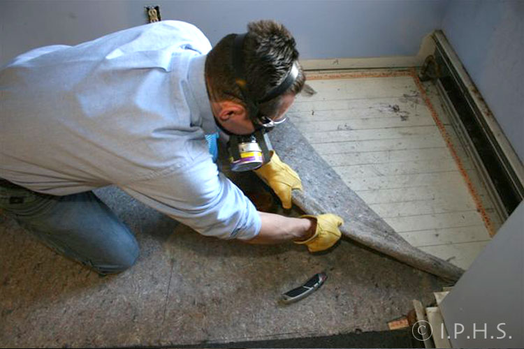 International Parquetry Historical Society Removing Carpet
